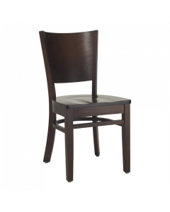 Paris Commercial Restaurant Side Chair - Mahogany Special