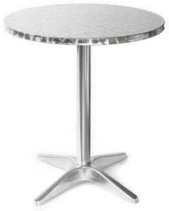 Aluminum Round Topped Table