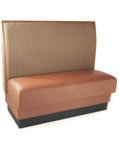 Wood and Upholstered Booth