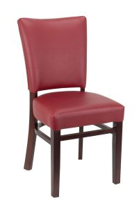 Westwood Side Chair with Upholstered Seat and Back (Front)