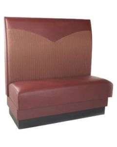 Poinsettia Upholstered Booth