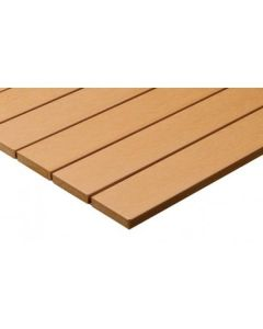 Tan Synthetic Teak Wood Patio Table Top