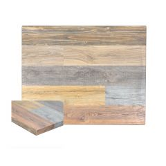 Multicolored High-Density Composite Rustic Tabletop