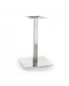 Brushed Stainless Steel Square Table Base