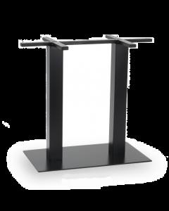 Black Metal Rectangular Table Base
