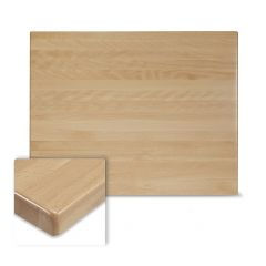 Rectangular Solid Beech Wood Table Top in Natural