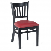 Vertical-Back Commercial Chair