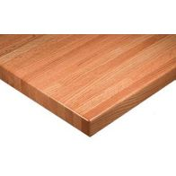 Solid Oak Butcherblock Table Top