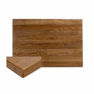 """Red Oak Wood Rectangular Dining Table Top (24"""" x 30"""")"""