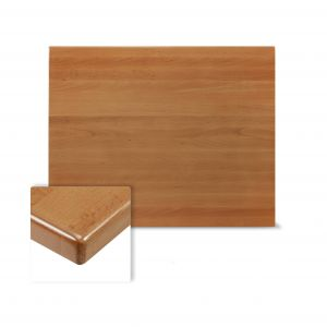 """Solid Beech Wood Rectangular Dining Table Top in Cherry (30""""X 42"""
