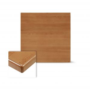 """Solid Beech Wood Square Dining Table Top in Cherry (36""""X 36"""