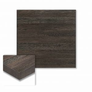 "Honeycomb Core High Pressure Melamine Indoor Zebrano Square Dining Table Top (24""x 24"")"