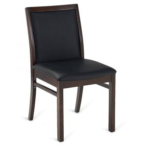 Fully Upholstered Wood Morgan Restaurant Chair