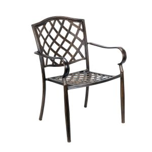Cast Aluminum Outdoor Chair (Front)