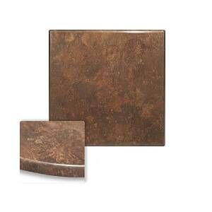 "Werzalit Copper Square Outdoor Dining Table Top (32"" x 32"")"