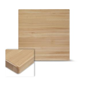 """Solid Beechwood Square Dining Table Top in Natural (24""""X 24"""