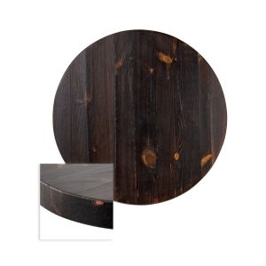 "Solid Wood Russian Pine Round Dining Table Top (30"")"
