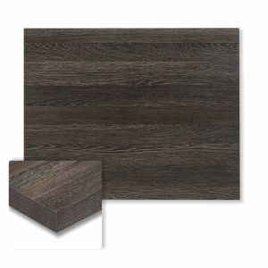 "Honeycomb Core High Pressure Melamine Indoor Zebrano Rectangular Dining Table Top (24""x 30"")"