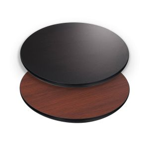 """Reversible Round Laminate Commercial Table Top (30"""")"""