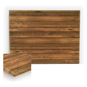 "Werzalit Distressed Walnut Rectangular Outdoor Dining Table Top (24""x 30"")"
