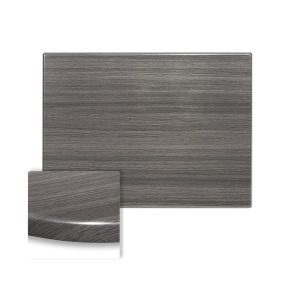 "Werzalit Onyx Grey Rectangular Outdoor Restaurant Table Top (32""x 48"")"