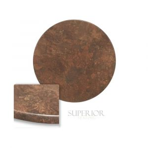 "Werzalit Copper Round Outdoor Dining Table Top (30"")"